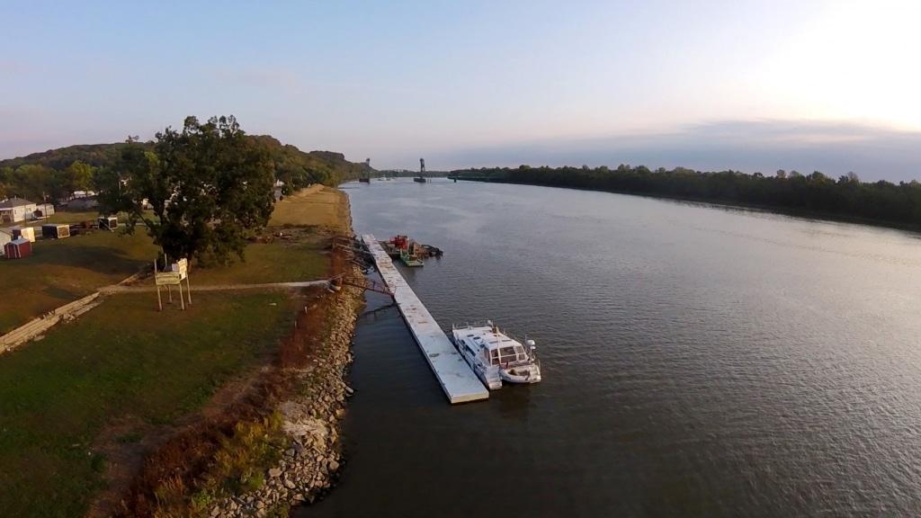Boat Dock Aerial