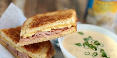 ham and cheese sandwich potato soup